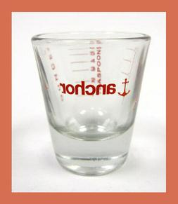 1 OZ Anchor Hocking Measuring Shot Glass - NEW - Teaspoon Ta
