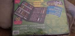 Darice 120Piece Deluxe Art Set Art Supplies for Drawing, Pai