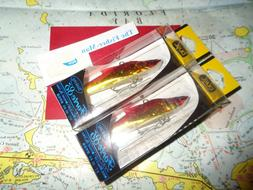 """2 DUEL FORTE 85 LURES NEW DUEL 85MM 20G 3 3/8"""" 3/4 OZ SINKIN"""