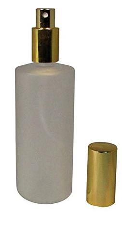 4 Ounce  Frosted Glass Empty Refillable Replacement Glass Pe