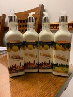 4 Bath & Body Works SPARKLING LIMONCELLO Hand Lotions - 15 f