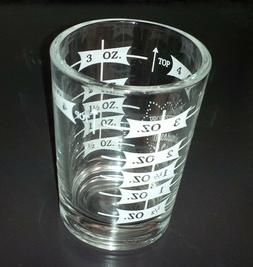4 oz. Bar & Kitchen PROFESSIONAL MEASURING GLASS Tempered Ji