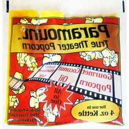 4oz - Case of 24 Individual 4 Ounce Popcorn Portion Packets