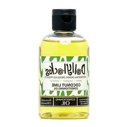 4oz Coconut Lime Dreadlock Conditioning Oil from Dollylocks