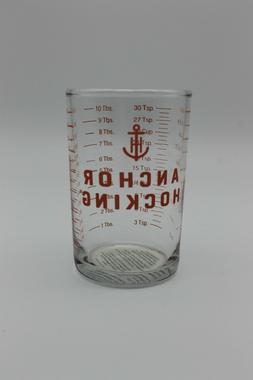 5 oz Clear Glass Measuring Cup Bar - Jigger Shot Glass Ancho