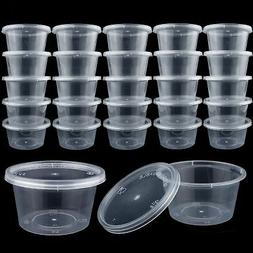 50 Pack 4oz. Slime Containers with Lids