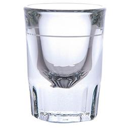 Libbey 5126/A0007 Fluted Whiskey / Shot Glass 2 oz with 1 oz