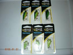 6 Pack Lindy Darter Jig Ice & Crappie Rattle Bait 3 1/4 oz a