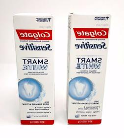 8 Colgate Sensitive SMART WHITE Fresh Mint Paste Maximum Str