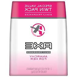 AXE Body Spray for Women, Anarchy For Her 4 oz, Twin Pack