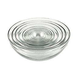 Anchor Hocking Glass Bowl Set - 10 pcs
