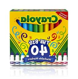 Crayola 587861A000 Ultra-Clean Washable Broad Line Markers,