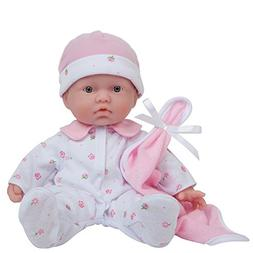 JC Toys, La Baby 11-inch Washable Soft Body Play Doll For Ch