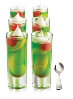 Libbey Just Desserts Parfait Glass with Minaiture Stainless