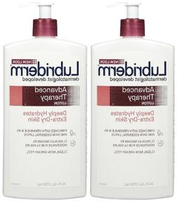 Lubriderm Advanced Therapy Moisturizing Lotion - 24 oz - 2 p