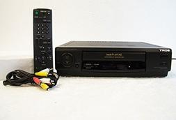 Sony SLV-478 DA Pro 4 Head VCR VHS Player Recorder with quic