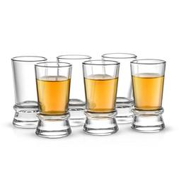 JoyJolt Afina Collection 6-Pack Heavy Base Shot Glass Set, 1