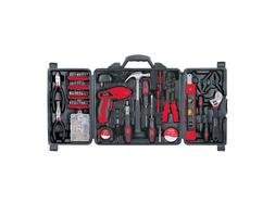 Apollo 161 Piece Household Tool Kit with 4.8 Volt Rechargeab
