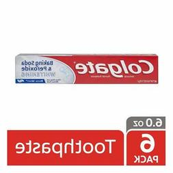 Colgate Baking Soda and Peroxide Whitening Toothpaste - 4 ou