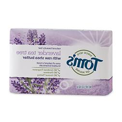 Tom's of Maine Natural Beauty Bar Soap with Raw Shea Butter,