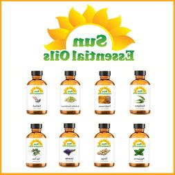 Best Sun Essential Oils -  - 100% Pure - Amber Bottle + Drop