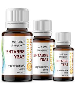 BREATHE EASY Aromatherapy Essential Oil Blend 100% Pure Ther