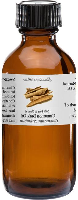 cinnamon bark essential oil 4 oz 100