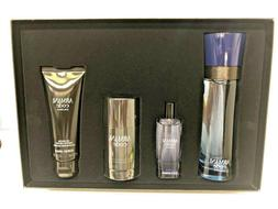 Giorgio Armani code colonia men's cologne set 4.2 oz 4 PCS