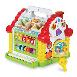 Colorful Musical Baby Fun House – Multi Game Educational K