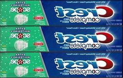 Crest Complete Extra Whitening w/ Scope Toothpaste 5 pack 8.