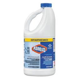 Clorox Concentrated Germicidal Bleach, Regular, 64oz Bottle,