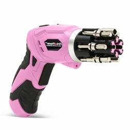 d1ea10edd6db49 Pink Power Cordless Lithium-Ion Drill & Driver Kit for Women