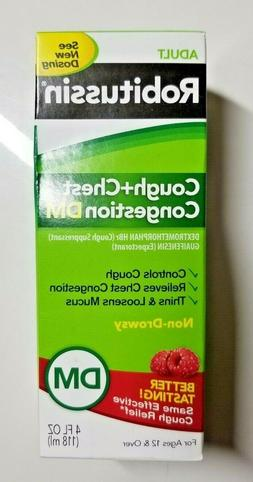 ADULT ROBITUSSIN COUGH + CHEST CONGESTION DM NON DROWSY AGE