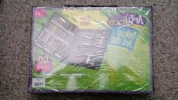 Darice 120Piece Deluxe Art Set Supplies for Drawing Painting