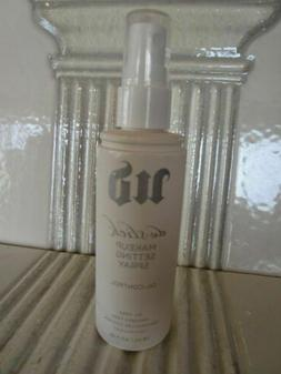 URBAN DECAY DE-SLICK MAKEUP SETTING SPRAY 4 OZ CLEAR CAP REA
