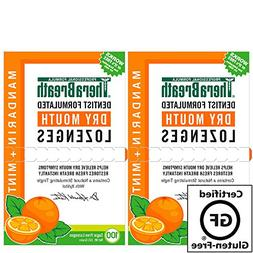 TheraBreath – Dry Mouth Lozenges – Mandarin Mint Flavor