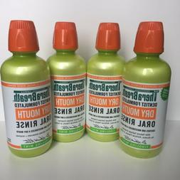 Therabreath Dry Mouth Mouthwash Tingling Mint 4-pack, 16oz e