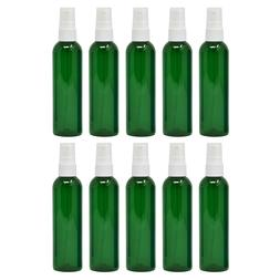 Plastic Spray Bottles Empty 4 oz Fine Mist Sprayers PET BPA