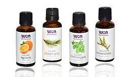 4-pack Now Foods Essential Oils: Christmas Scent: Peppermint