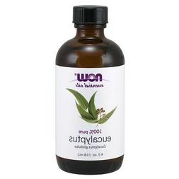NOW Foods Eucalyptus Oil, 4 oz. FREE SHIPPING. MADE IN USA.