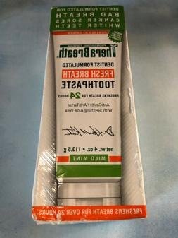 TheraBreath Fresh Breath Toothpaste 4 oz Exp 5/20