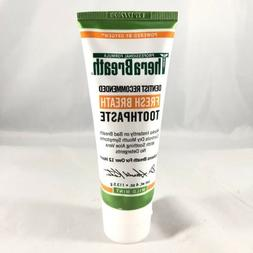 Therabreath Fresh Breath Toothpaste 4oz. Mild Mint NEW/SEALE