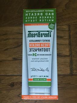 TheraBreath Fresh Breath Toothpaste Naturally Oxygenating Mi