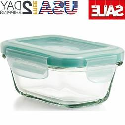 OXO Good Grips 4 Ounce Smart Seal Leakproof Glass Rectangle