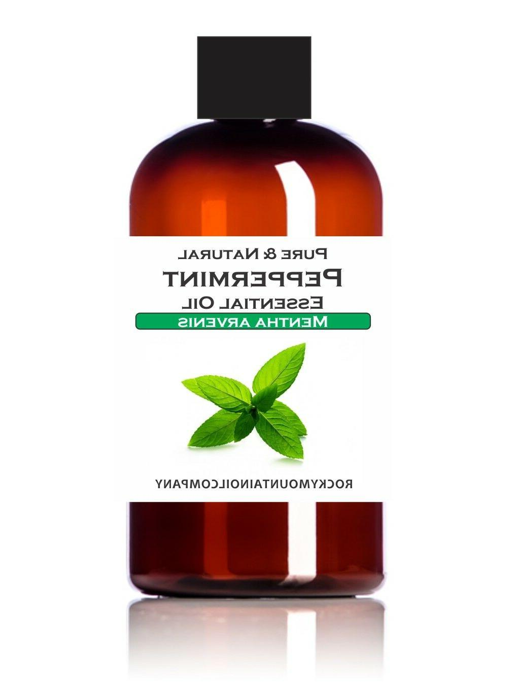100 percent pure and natural peppermint essential