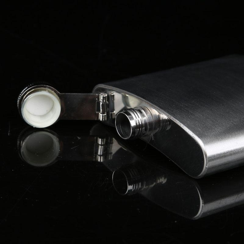 Flask Stainless Hip Liquor Bottle Whiskey