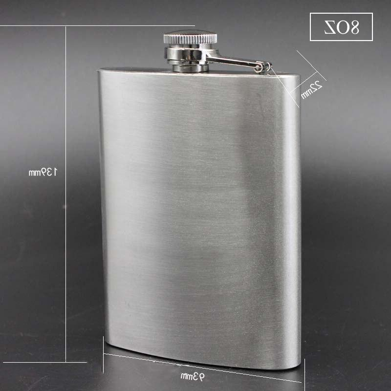 UPORS 18/10/9/8/7/6/5/<font><b>4</b></font>/1 <font><b>OZ</b></font> Flask Stainless Liquor Bottle Whiskey