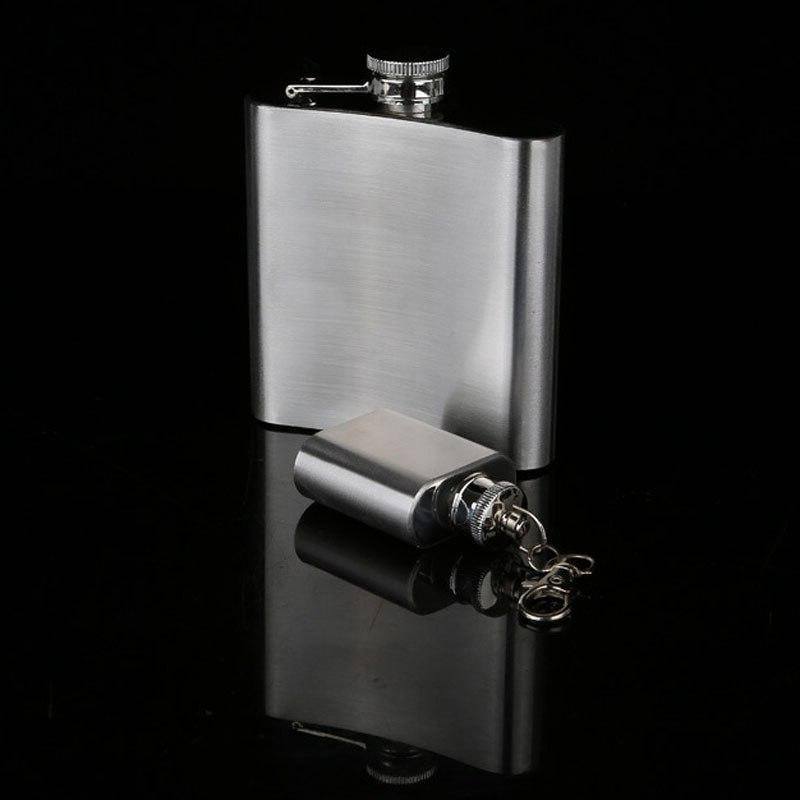 UPORS 18/10/9/8/7/6/5/<font><b>4</b></font>/1 <font><b>OZ</b></font> Flask High Stainless Liquor Bottle Alcohol Whiskey Flask