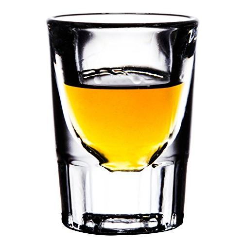 5135 fluted whiskey shot glass