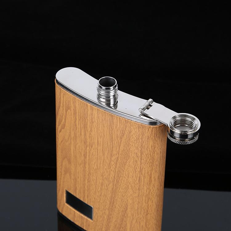 9 <font><b>oz</b></font> Hip Flask Set Funnel and Whiskey Wine Flagon Travel Drinkware For Gifts